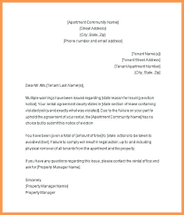 Letter Of Eviction Notice 7 Tenant Eviction Notice Form To Evict
