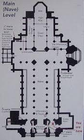 Inspiring Gothic Architecture Floor Plan 14 Photo  Architecture Cathedral Floor Plans