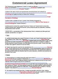 Free Commercial Lease Agreements Forms Texas Commercial Lease Agreement Form Pdf Awesome Mercial Lease