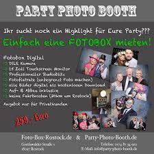 Party Photo Boothde Photo Booth Rostockde Foto Box Rostockde