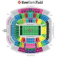 Jacksonville Jaguars 3d Seating Chart Everbank Field Jacksonville Fl Seating Chart View