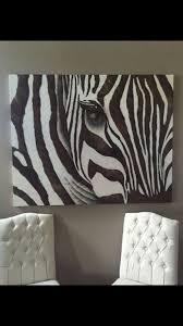 zgallerie zebra canvas painting