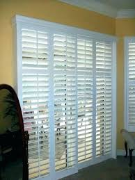 sliding glass door shutters sliding