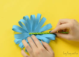 Paper Crafted Flowers Paper Flower Craft Easy Peasy And Fun