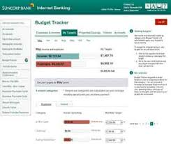 Budget Online Budget Tracker Ways To Bank Suncorp Bank