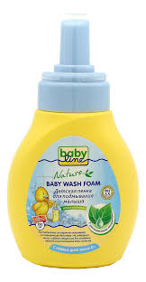 <b>Детская пенка для подмывания</b> малыша с растительными ...