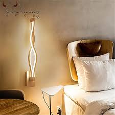 16w led modern wall lamp wall sconce bedroom bedside lamp fixture lighting decor white warm