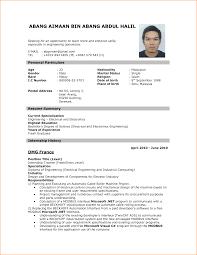 Resume Format For Job Application Resume Format For Job Application .