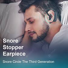 Snore Circle <b>Smart</b> Anti Snoring Device Earphone <b>Snore Stopper</b> ...