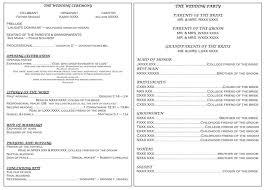 Catholic Wedding Ceremony Program Templates Catholic Wedding Program Template For Template Writemyessayforme10 Com