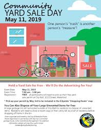 2nd Annual Community Yard Sale City Of Waterford