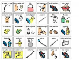 Living Well With Autism Dental Visual Helpers Picture