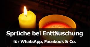 Spruche Fur Whatsapp Status Enttauscht Leben Zitate