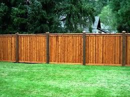 wood fence backyard. Wood Fence Backyard Best Types Of Fences Ideas On For Styles