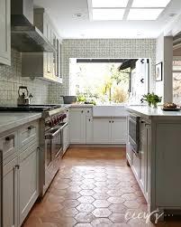 innovative terracotta kitchen floor tiles large