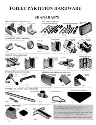 bathroom stall parts. Challenge Toilet Partition Hardware Shanahan S Wielhouwer Replacement Bathroom Stall Parts T