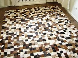 cowhide patch rug cowhide patchwork rug cowhide patch rug pier 1