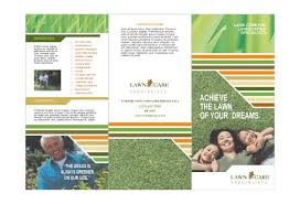 Lawn Care Brochure Lawn Mowing Flyer Template Free Onweoinnovate Incredible Lawn Care