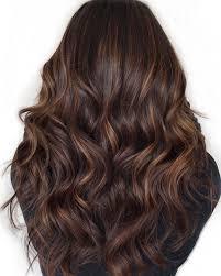 Dark Hair With Light Brown Streaks 60 Hairstyles Featuring Dark Brown Hair With Highlights