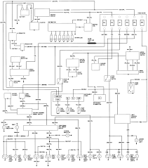 Toyota wiper wiring diagram with blueprint