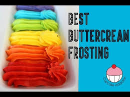 Buttercream FROSTING RECIPE Perfect for Decorating Cakes