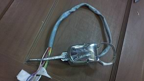 signal stat question the cj2a page forums the 728 only has one wire to the flasher which then goes directly to the amp meter here is a picture of the 728 model thanks for everyone s help