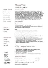 Fund Manager Resume Examples | Krida.info