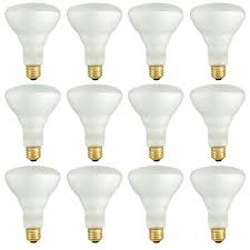 Track Lighting With Regular Bulbs Bulbrite 50 Watt Br30 Frost Dimmable Warm White Light