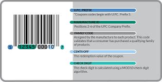 Coupon Format Coupon Formats Bar Code Graphics 4