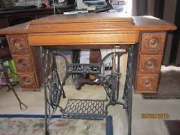 image is loading antique singer tiger oak fancy 7 drawer treadle