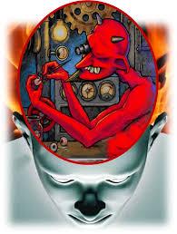 Resultado de imagem para cabeça vazia e morada do diabo