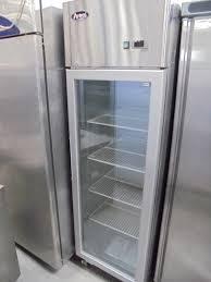 new atosa single glass door upright display freezer 4951
