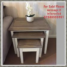 coffee tables tesco inspirational nest of 3 77d9a788 awesome