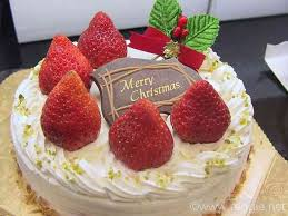 Food Lorists: Japanese Christmas Cake