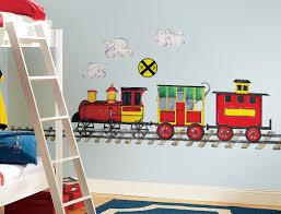 Kids Bedroom Wall Remarkable Train Wall Painting For Kids Bedroomremarkable Train
