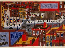 artist jacob lawrence still resonate a century after his birth his vibrant and bold paintings tell stories of liberation resistance and resilience