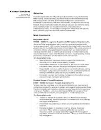 Nursing Resume Objective Statement Examples Sevte