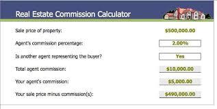 realtor commission calculator realtor commision calculator rome fontanacountryinn com
