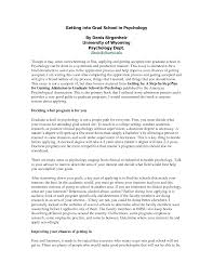 Grad School Resume Sample Resume Graduate School Application Psychology New Resume 60
