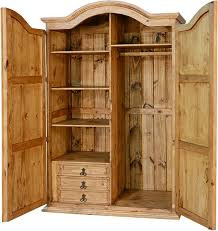corona rustic wardrobe armoire r
