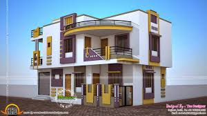 duplex plan house indian style admirable contemporary plans sq ft