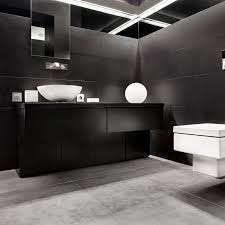 black bathroom. Interesting Black And Black Bathroom