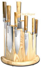 olive magnet knife block modern knife block