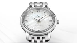 omega watches the omega de ville prestige ladies collection women who prefer smaller watches will be delighted the de ville prestige quartz collection offered in two sizes 27 4 mm and 24 4 mm