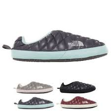 Details About Womens The North Face Thermoball Tent Mule Iv Winter Fleece Slippers Us 5 9 5