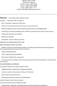 Pipefitter Resume Templates Download Free Premium Templates