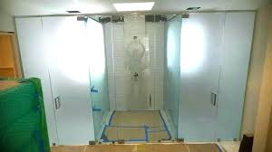 cleaning frosted glass frosted shower door glass frosted shower doors glass door frosted glass shower door