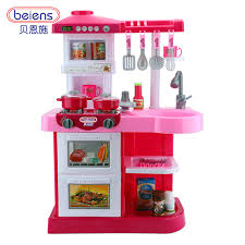 Berns children\u0027s toy house Girl Dolls House kitchen cooking utensils and tableware.-in Furniture Toys from \u0026 Hobbies on Aliexpress.com | Alibaba Group