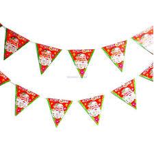 go team pennant clipart. 2.5m pennant flag banner santa christmas tree home bar party ornament decoration go team clipart