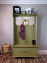 Coat Rack With Bench Seat Mudroom Charming Green Coat Rack Bench With Organized Hallways 47